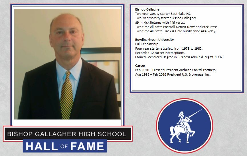 Jac Tomasello 2017 Lancer forever hall of fame inductee