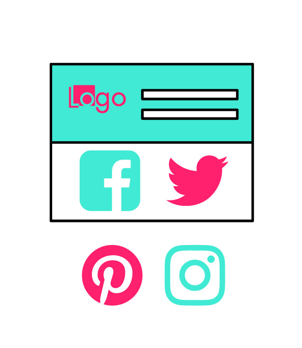 Social Media Graphics Pack Templates Pinterest Graphics Instagram Graphics Templates