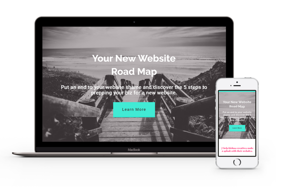 Responsive websites Squarespace websites Modern web designer