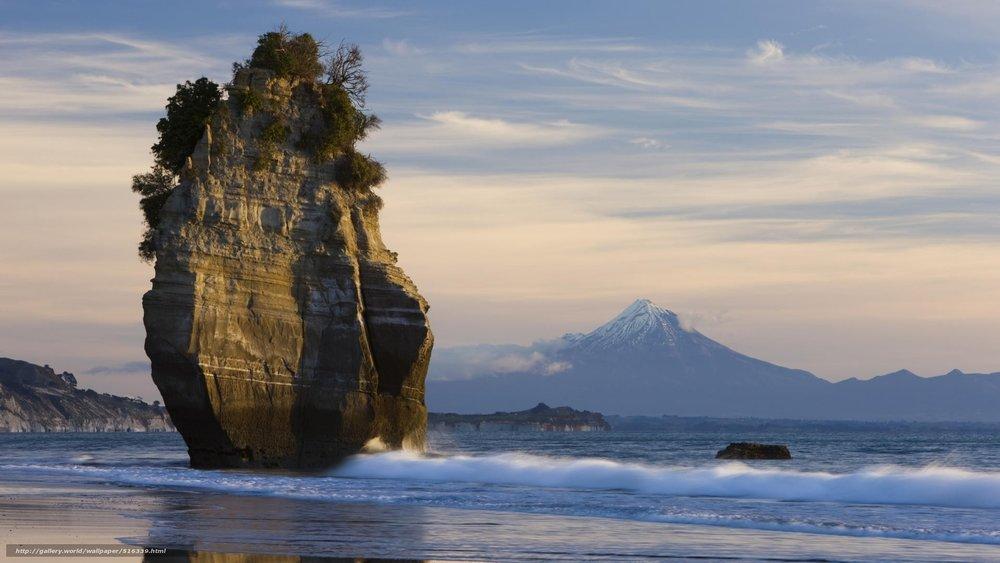 Taranaki, Surf Highway 45.New Zealand.