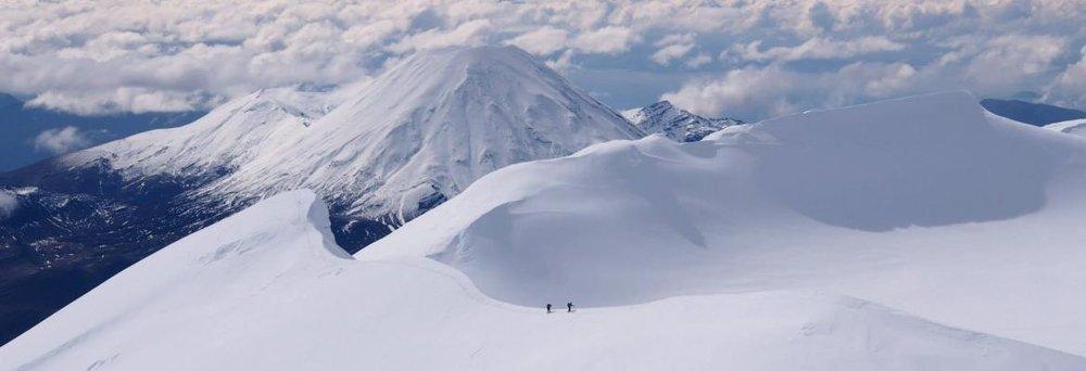 Mount Ruapehu, North Island.