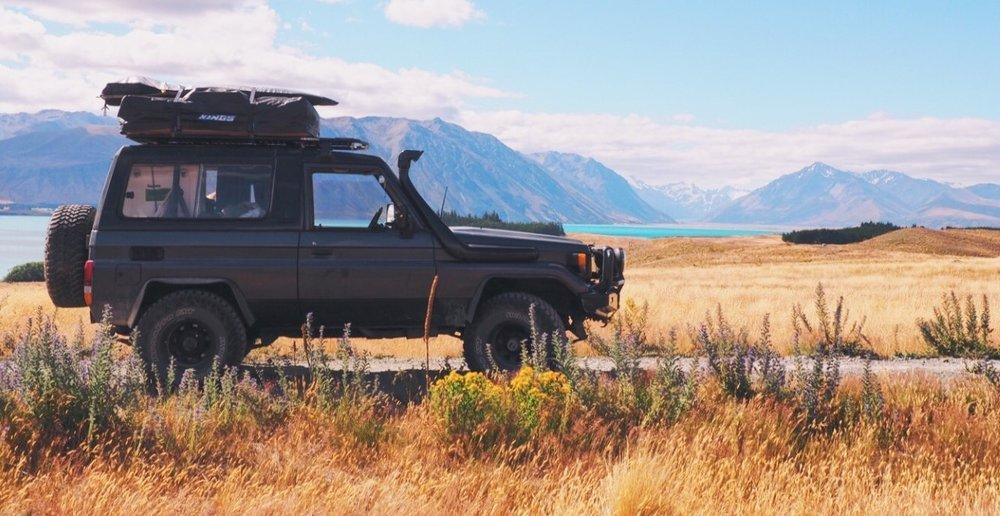 Campervan Rental   4x4 AWD Camping Roadtrip   New Zealand