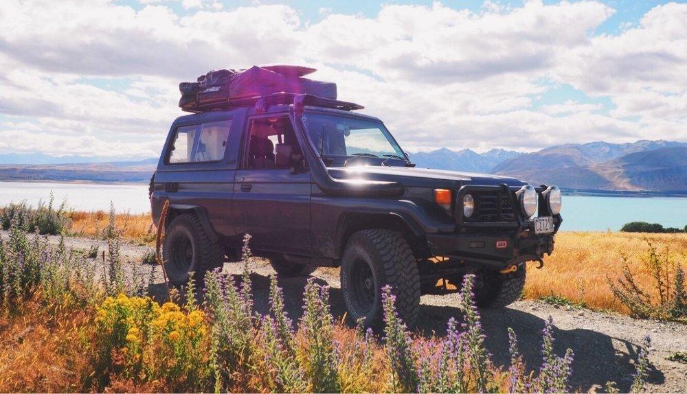 Campervan Rental | 4x4 Camping Roadtrip | New Zealand