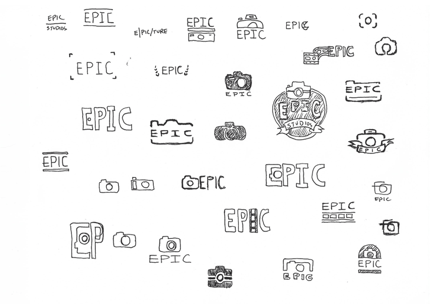 Initial design explorations [click to enlarge]