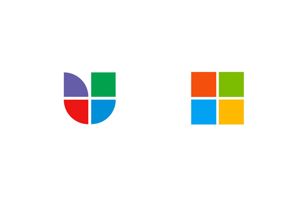 Univision, the Spanish-language TV network, and Microsoft.