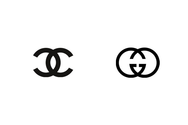Two iconic fashion powerhouses, Chanel and Gucci