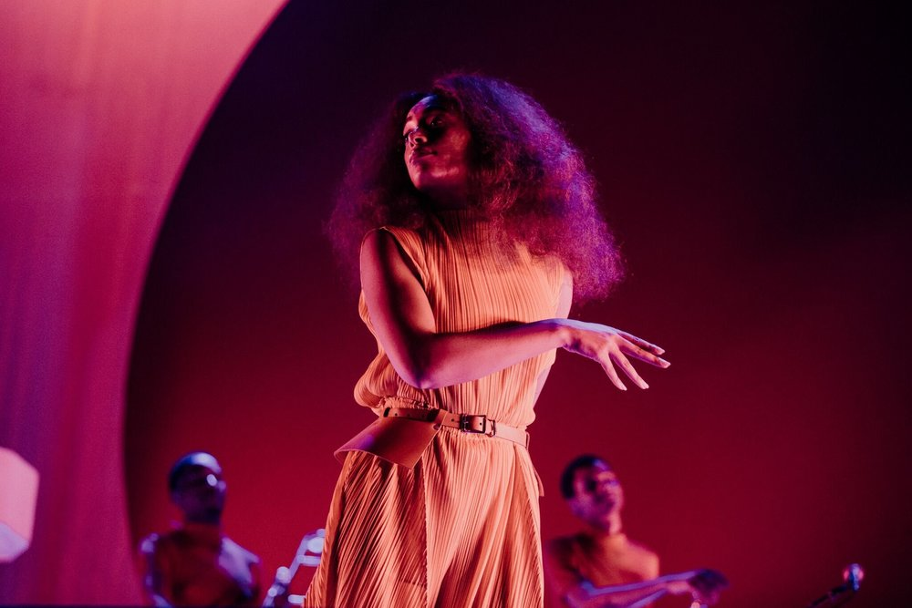 Solange, by Greg Noire for ACL Fest