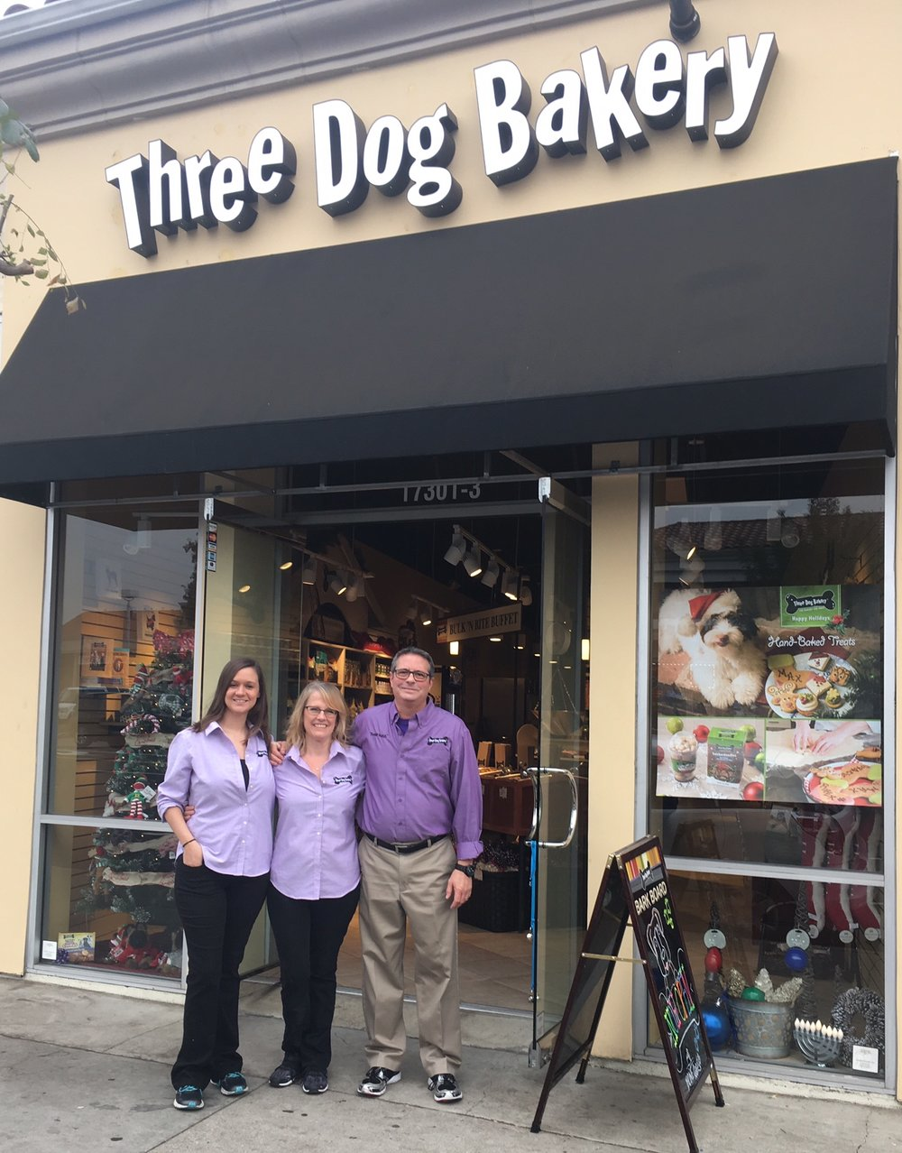 Joe Coffee + Three Dog Bakery - Joe Coffee has partnered with Three Dog Bakery in Encino, California, to provide our furry friends with fresh baked treats! Stop by Joe Coffee and check out our selection... At Joe Coffee, furry or human, we're all best friends!