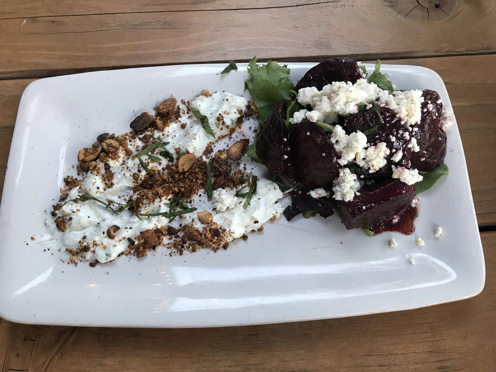 Beets with Mint Yoghurt