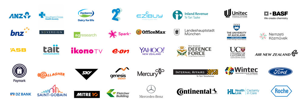 Organisations I worked with