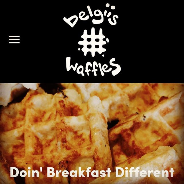 Check out our updated website! Belgiis.com and don't forget to visit the Why Waffles Page. #belgiiswaffles #belgiis
