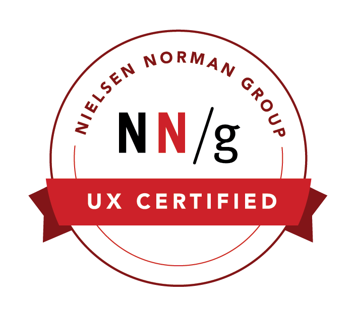 Pat Birgan in Sydney, Australia is UX Certified by the Nielsen Norman Group for User Experience Design and Usability