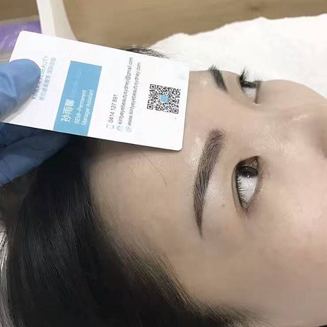 SEMI-PERMANENT EYEBROW TATTO FINISHED WORK!DONT FORGET YOUR EYEBROW!IT MAKES SOOO MUCH DIFFERENT #kinlyeyebeauty #sydney #semipermanent #eyebrowtatto #Beauty #cosmetics #haymarket