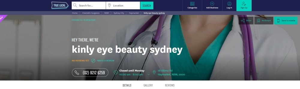 TRUE LOCAL - THE MOST POPULAR SYDNEY ONLINE SEARCH PLATFORM