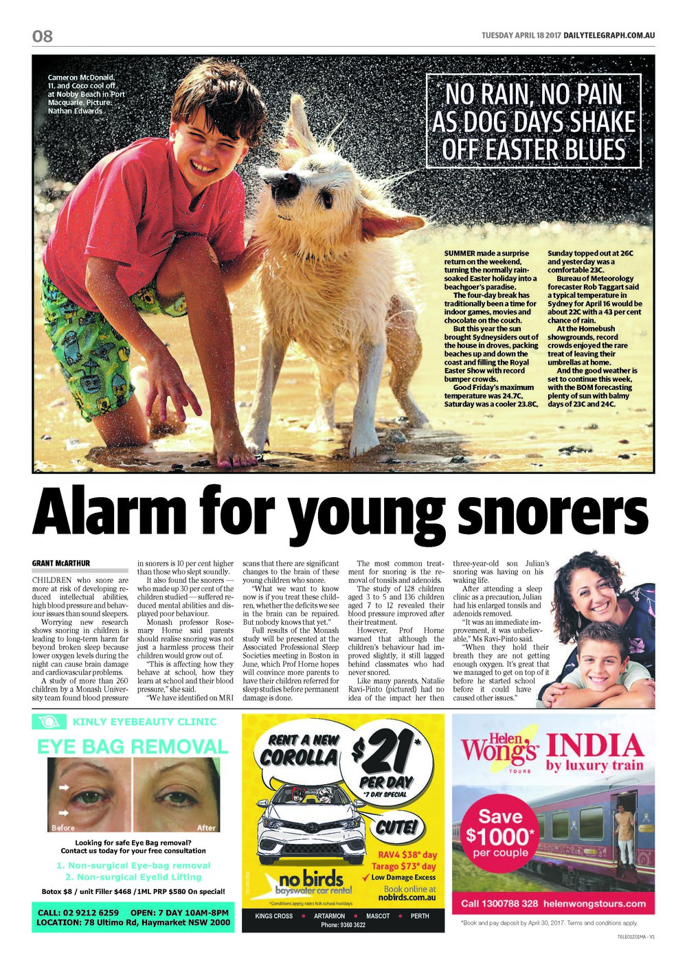 DAILYTELEGRAPH REPORT -