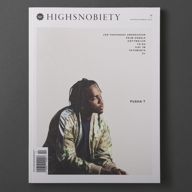 MENS GROOMING FOR: PUSHA T FOR HIGHSNOBIETY MAGAZINE