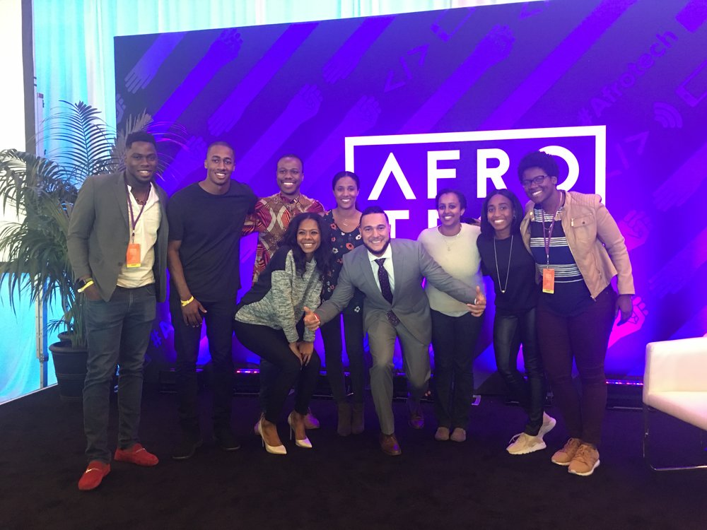 The GSB Squad @ AfroTech