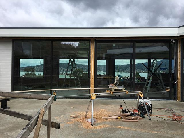 Passive house in progress. And check out those expansive Derwent River views. 🔨