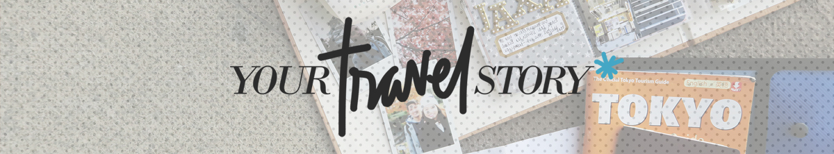 Join me for a #craftyourtravelstory challenge! | Crafted by Pam