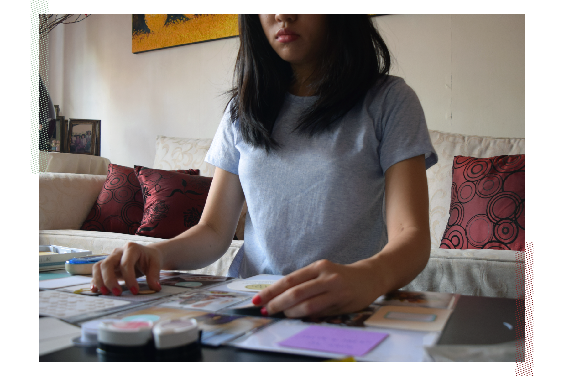 Createspaces #14: Amelia Ng's creative corner | Crafted by Pam
