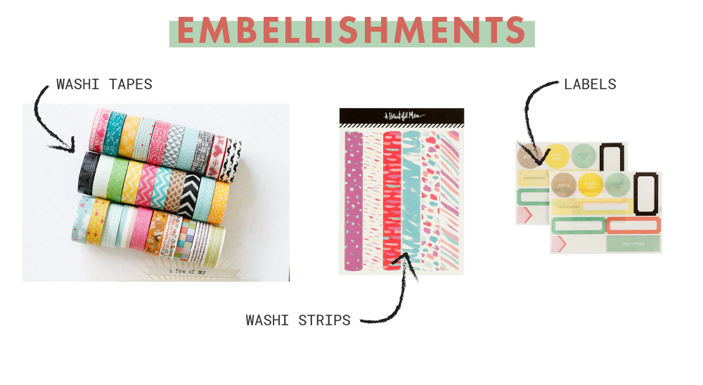 Stretch Your Stash: 12 no fluff, all-essential and extremely usable items that you need to have in your memory-keeping stash | Crafted by Pam