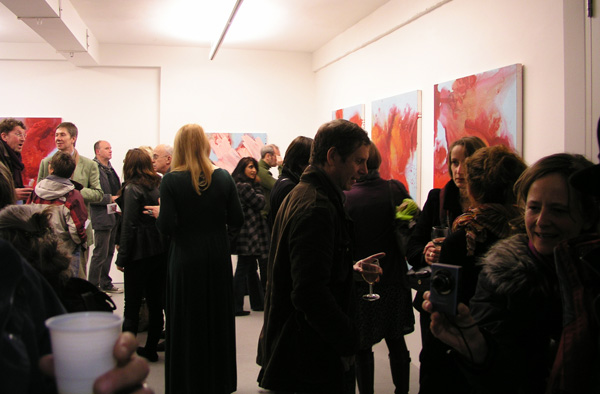 Private View at 'Encounter' solo exhibition