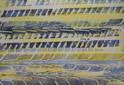 Free Prize-Draw for Monoprint 'Cross-Current 10