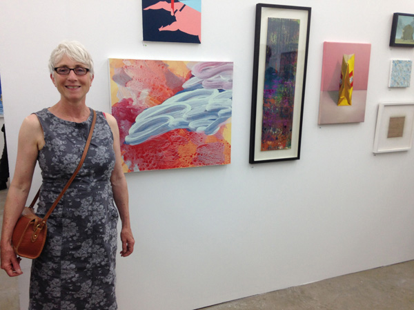 Sharon by 'Way Beyond' at the Private View