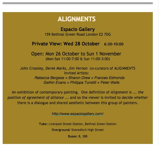 Alignments info