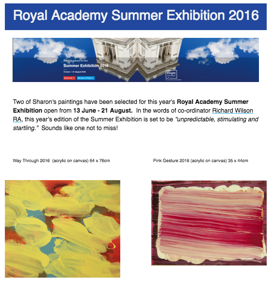 Royal Academy Suumer Exhibition