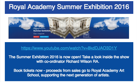 Royal Academy video
