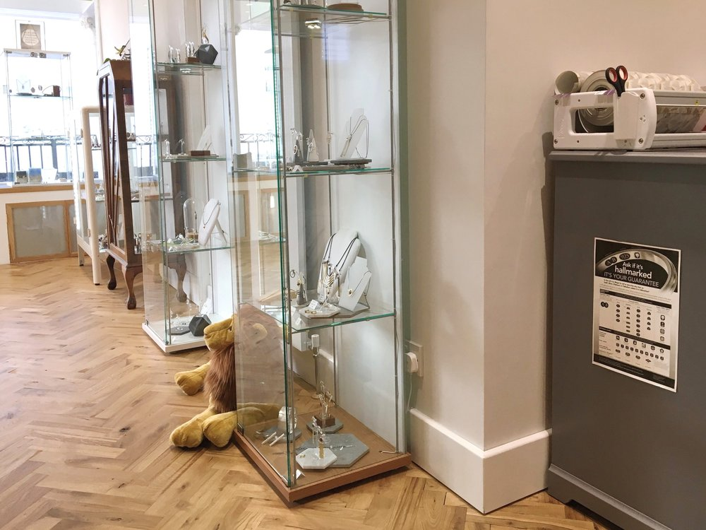 It is also a requirement for all 'dealers' (those who are in the business of making, supplying or selling precious metal articles) to display the statutory notice. Ours can be found on display in our showroom.