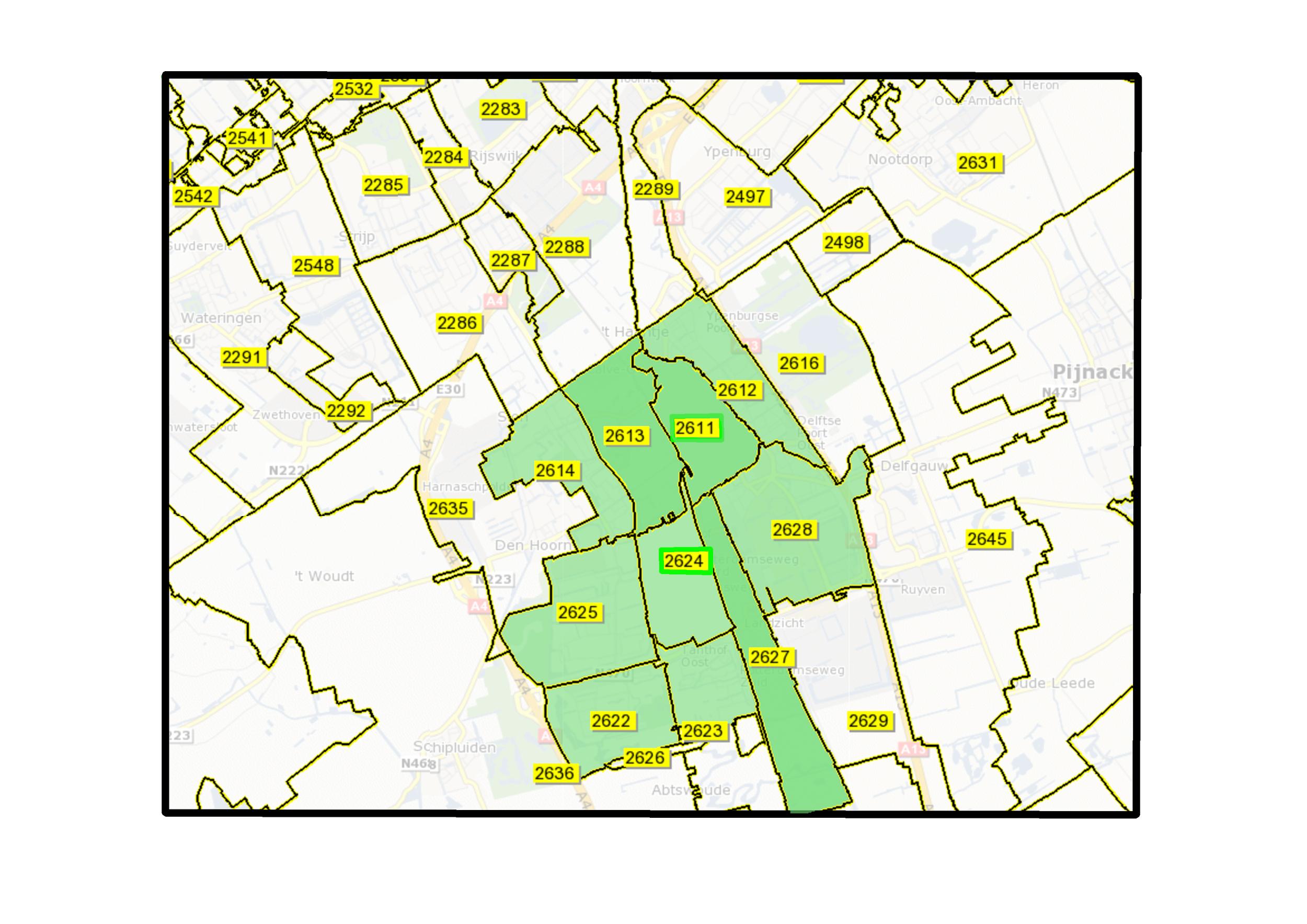 Dit zijn de postcodes die recht hebben op een korting op de energiebelasting