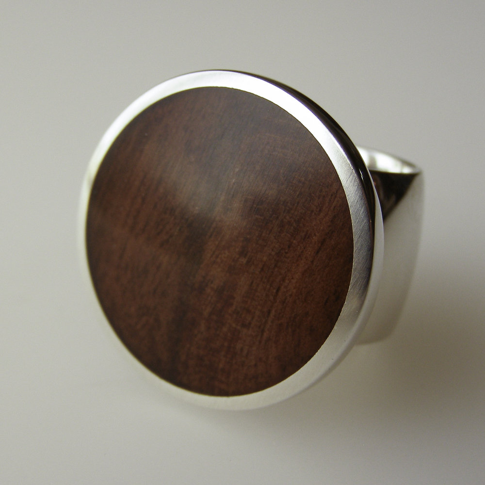 Driftwood rings