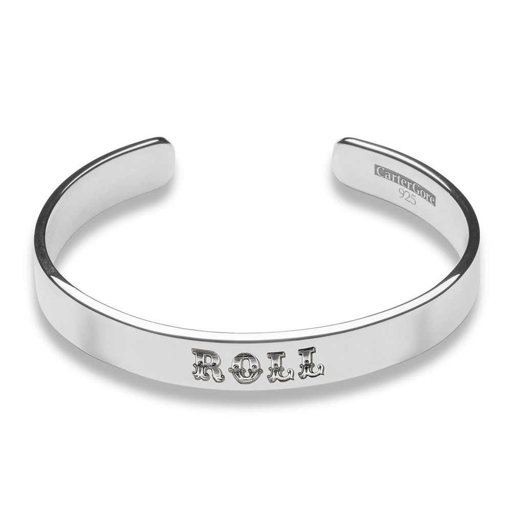 ROLL BANGLE<br>from £50.00