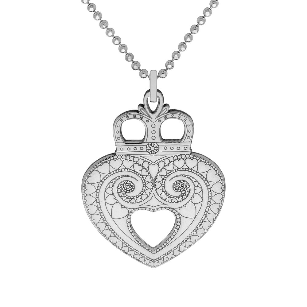 CROWN HEART PENDANT<br>from £65.00
