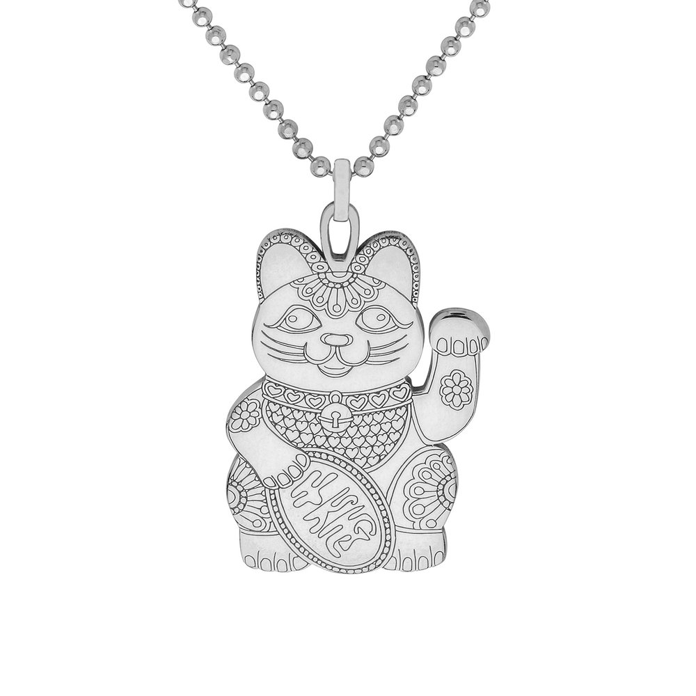 LUCKY CAT PENDANT<br>from £50.00