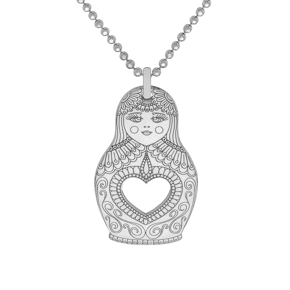 RUSSIAN DOLL PENDANT<br>from £50.00