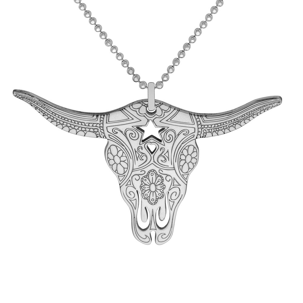 TEXAS LONGHORN PENDANT<br>from £50.00