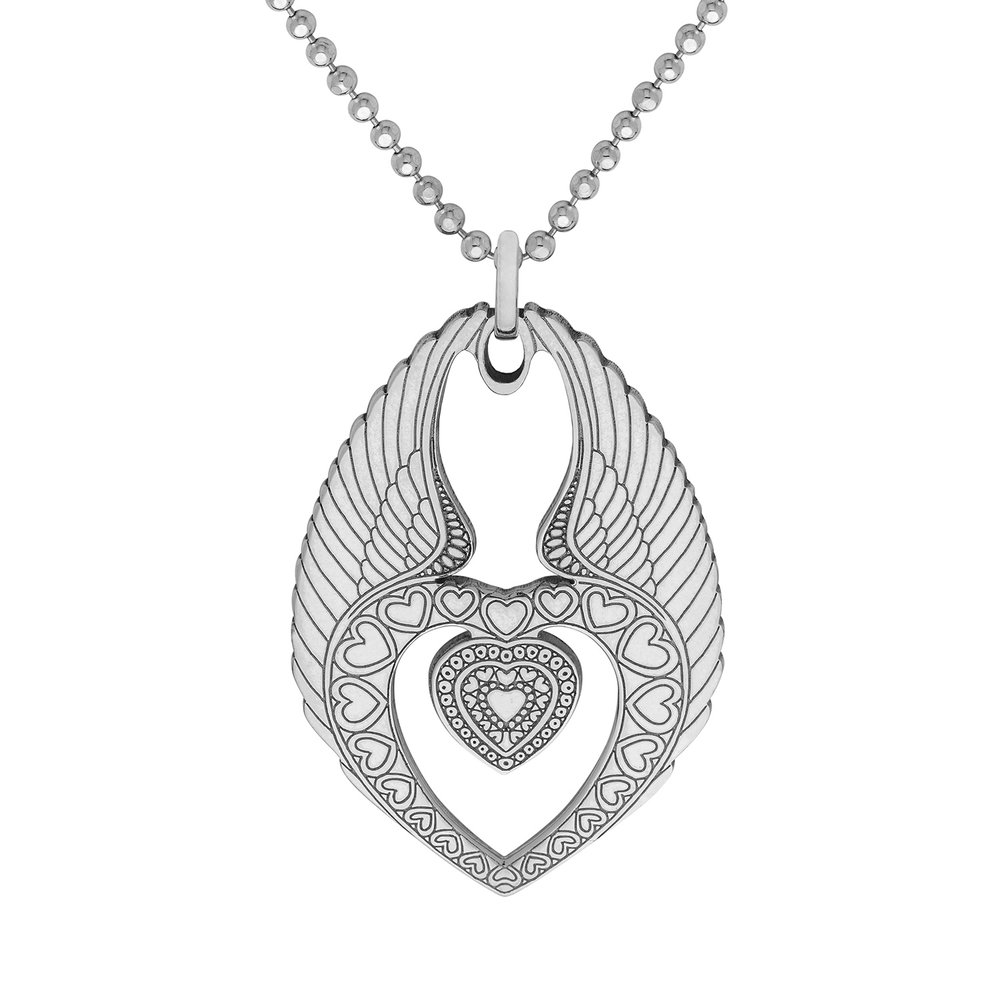 WINGED HEART PENDANT<br>from £65.00