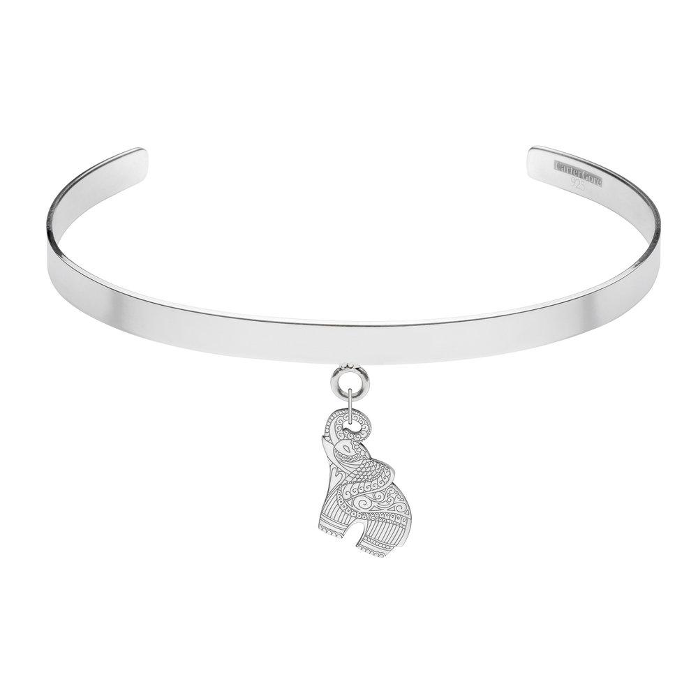 ELEPHANT<br>SINGLE CHARM CHOKER<br>£165.00