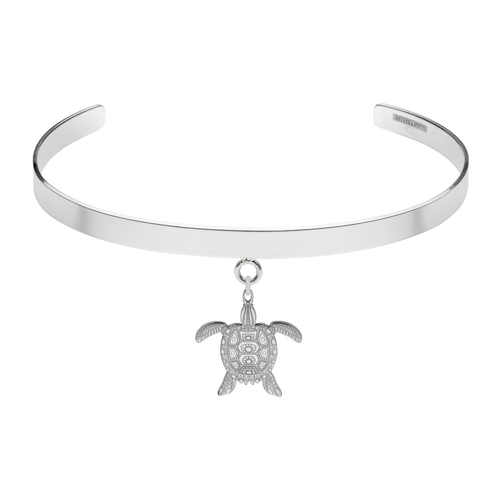 TURTLE<br>SINGLE CHARM CHOKER<br>£165.00