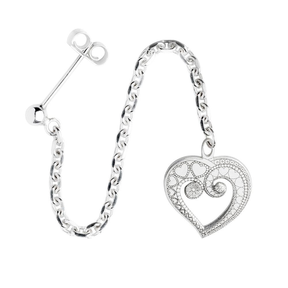 HEART OF HEARTS<br><b>SINGLE EARRING</b><br>£30.00