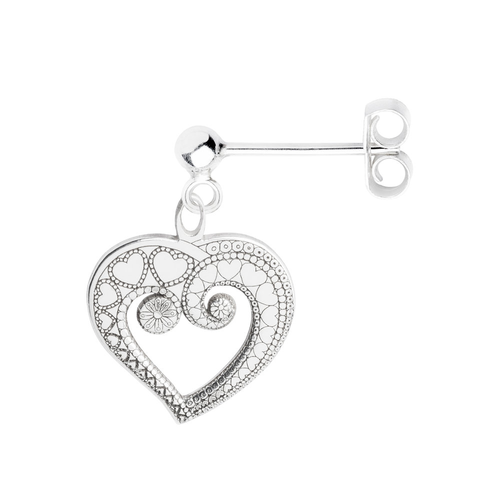 HEART OF HEARTS<br><b>SINGLE EARRING</b><br>£25.00