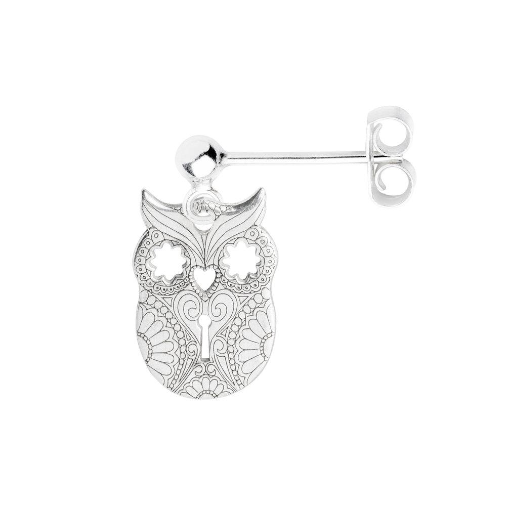 OWL<br><b>SINGLE EARRING</b><br>£25.00