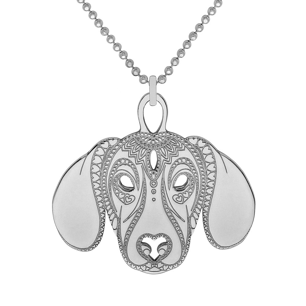 <b>New</b>: Dachshund PENDANT<br>from £65.00