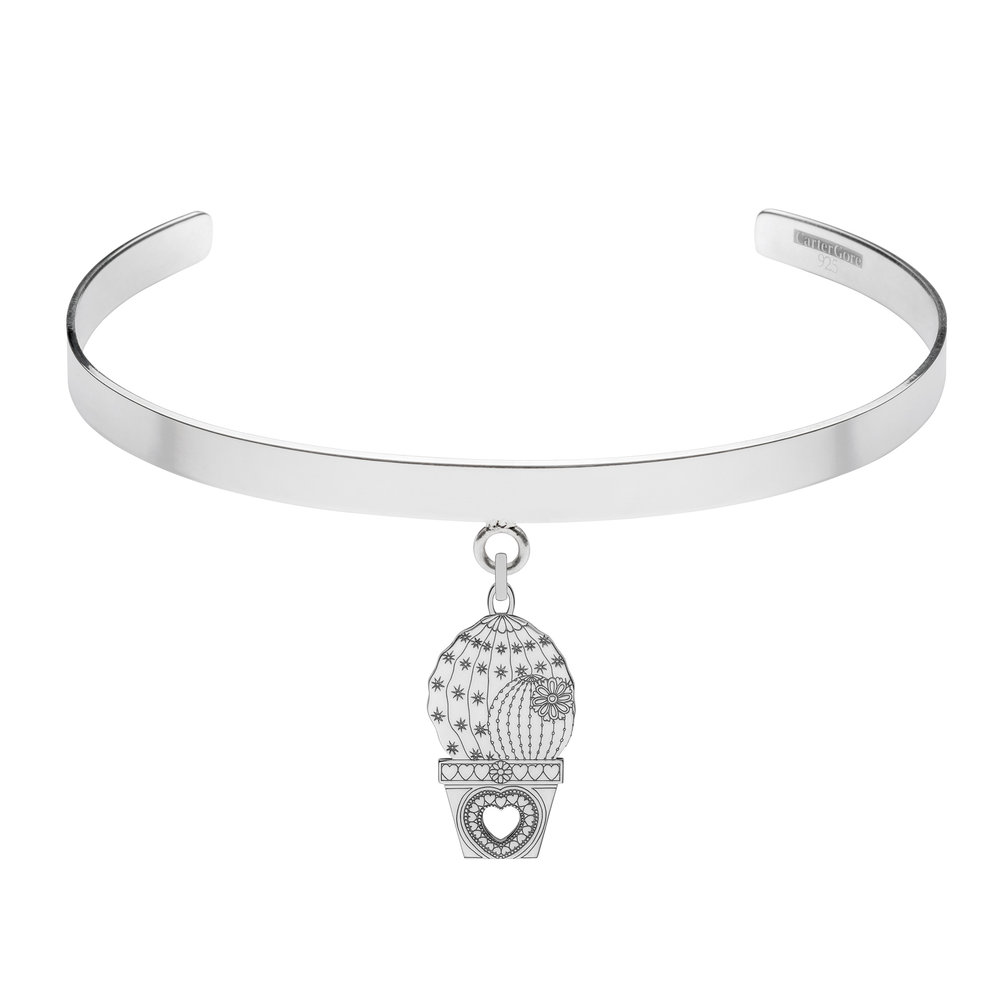 Chip the cactus<br>Single Charm Choker<br>from £165.00