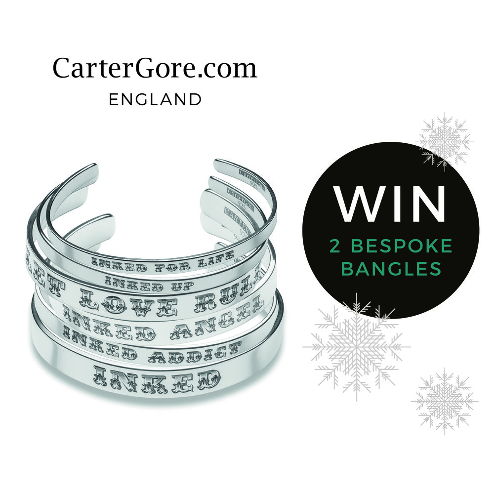 is you! - Check out our Facebook pages for your chance to win two fabulous bespoke Carnival Wonderland bangles, in solid Sterling silver. Gary Carter will personally engrave the winning names/lettering on the bangles once winner is announced. Competition starts 8th December, entries will close on 15th December. The winner will be announced on 18th December. Good luck!View terms & conditions
