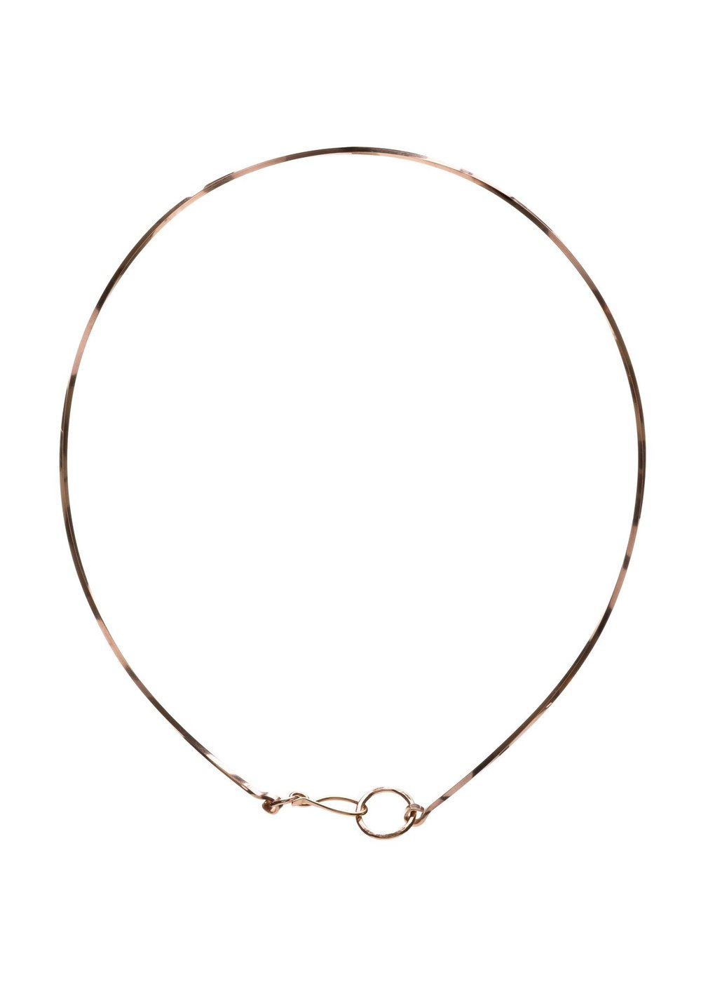 Rose Gold Twisted Neck Wire - $98 The Kenda Kist Twisted Neck Wire is available in Sterling Silver, 14k Rose Gold-Filled or 14k Gold-Filled metals.