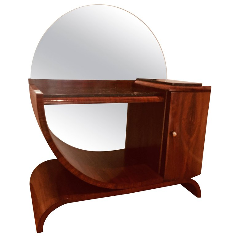 French Art Deco Dressing Table, 1930s